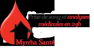 Prise de sang à domicile Myrrha Santé