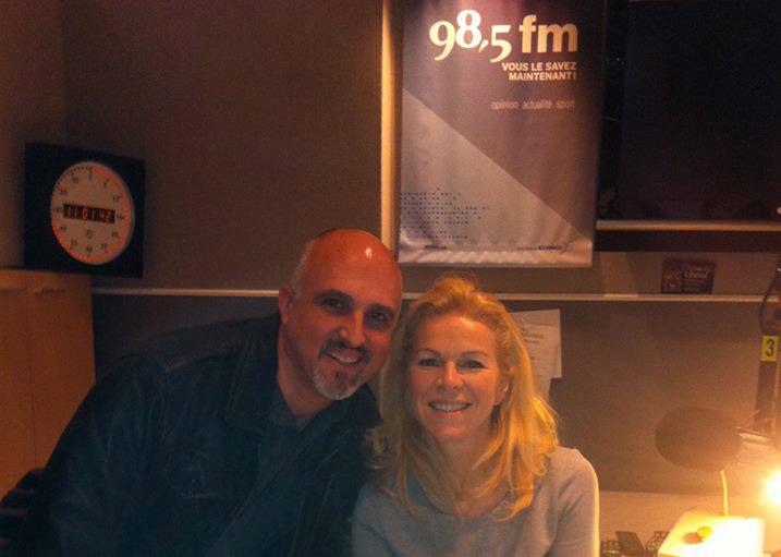Entrevue radiophonique de Éric Tremblay avec Isabelle Maréchal au FM 98,5 jeudi 9 avril 2014 — avec Myrrha Santé