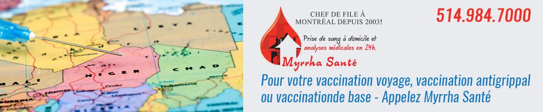 Clinique de vaccination voyage