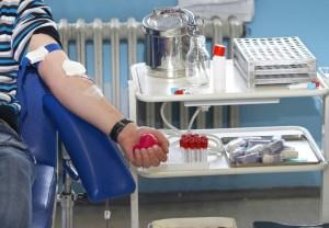 prélèvement sanguin
