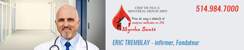 Éric Tremblay- infirmier, Fondateur